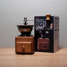 Hario Retro Holzmühle Small Coffee Grinder